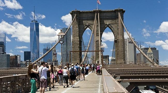 Geçen Yıl Amerika'ya 80 milyon Turist Geldi