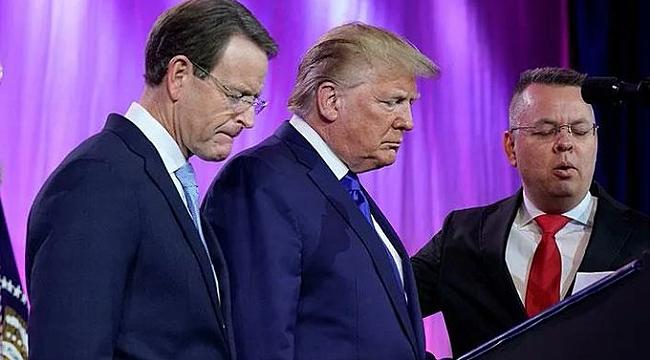 Trump, Brunson'a Dua Ettirdi