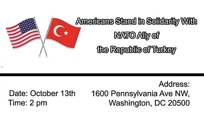 Türkler Barış Pınarı için Washington'da Buluşuyor