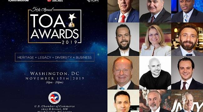 5. TOA Ödülleri Washington'da Verildi