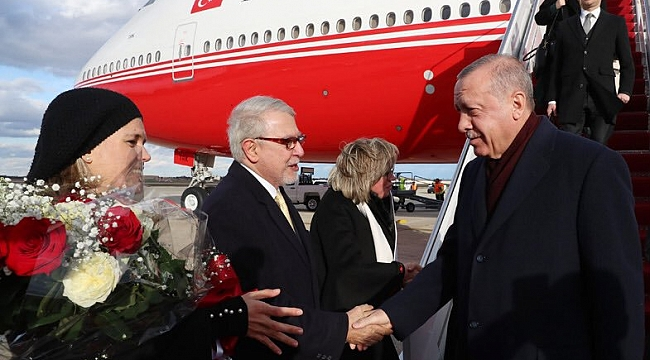 Cumhurbaşkanı Erdoğan Washington'da