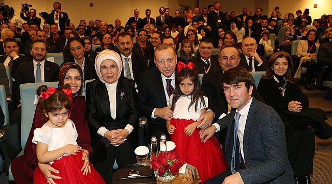 Erdoğan Maryland'teki Diyanet Külliyesinde