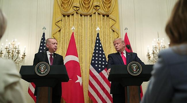 Erdoğan ve Trump'tan Ortak Basın Toplantısı