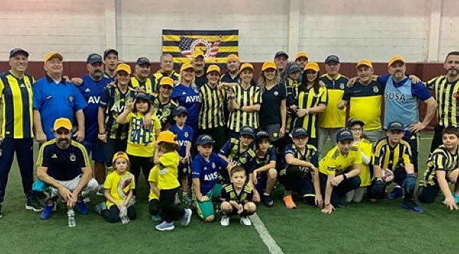 Fenerbahçe USA'dan Futbol Şenliği