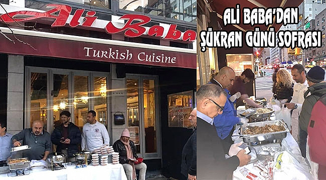 New York'ta Ali Baba'dan Thanksgiving Hayratı