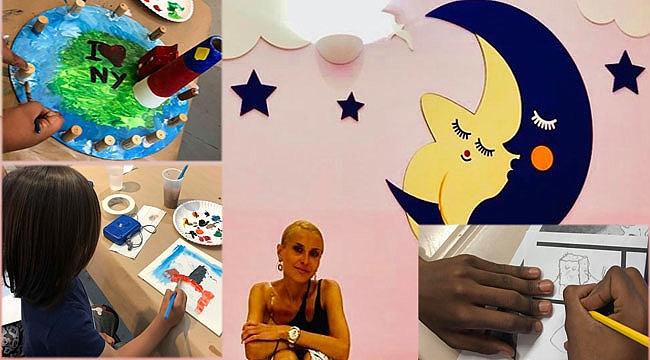 New York'ta Çocuklara Resmi Öğreten Türk: Hayat Tahmaz
