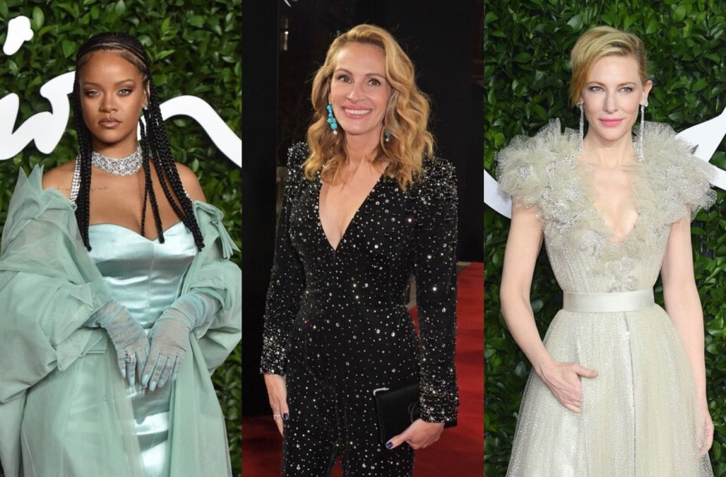 Rihanna Julia Roberts And Cate Blanchett Steal The Show At