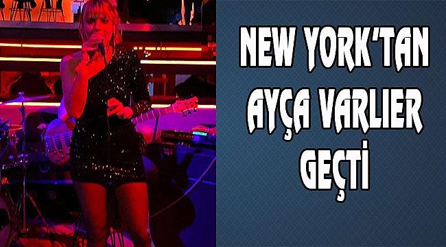 Ayça Varlıer New York'ta Konser verdi