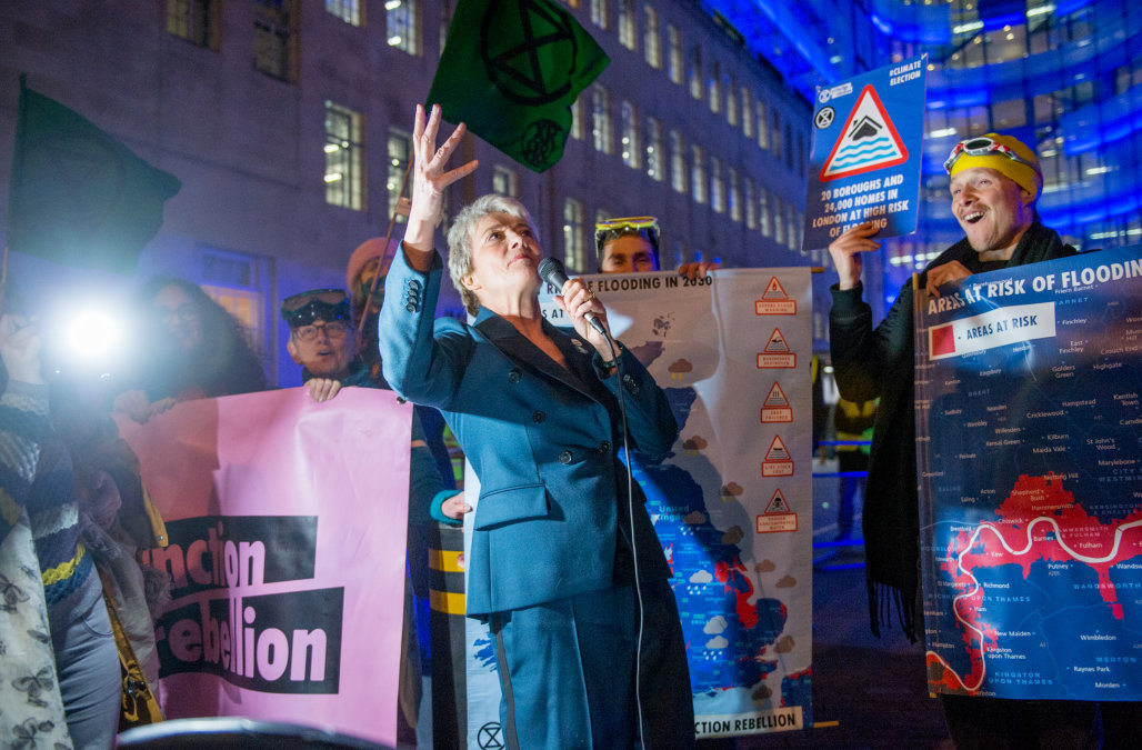 Emma Thompson suggests climate change may drive pe