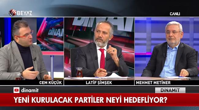 Cem Küçük: Erdoğan Karşıtı biri gelse yargılanırız