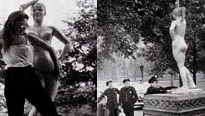 Central Park'taki Çıplak Kız Heykeli Türk Çıktı