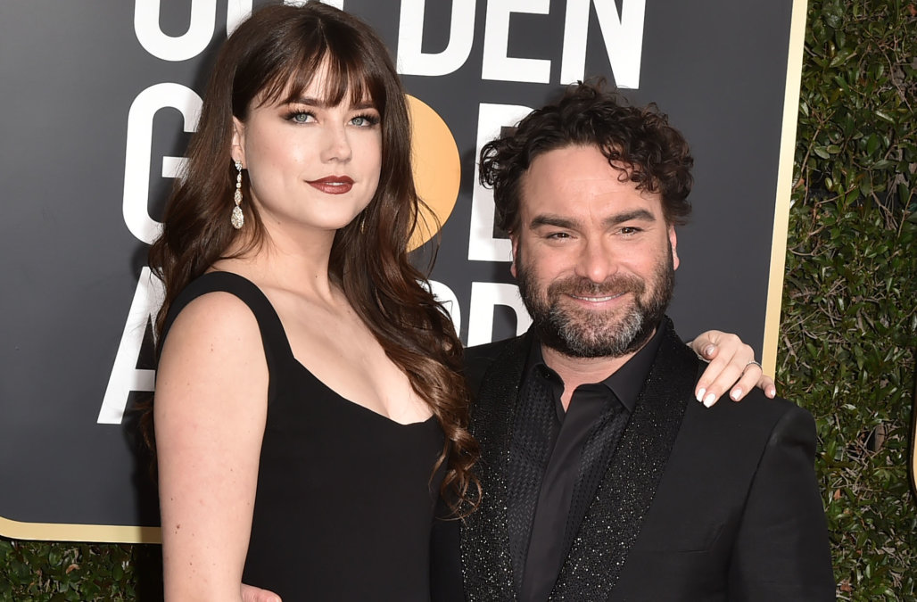 'Big Bang Theory' star Johnny Galecki, 44, welcome