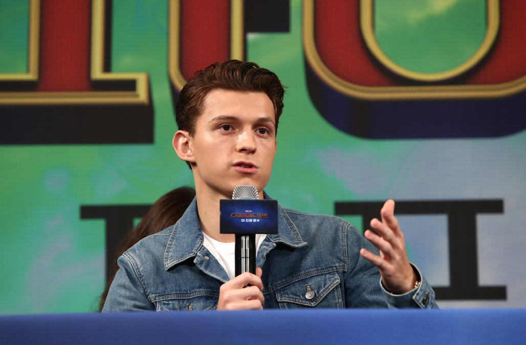 Tom Holland admits he was drunk when he convinced
