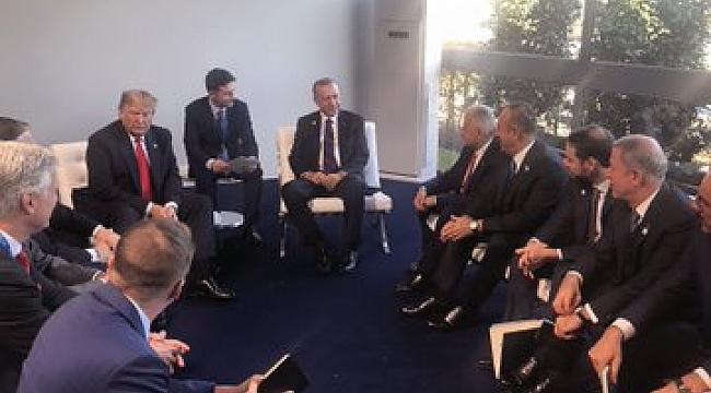 Erdoğan Trump ile biraraya geldi