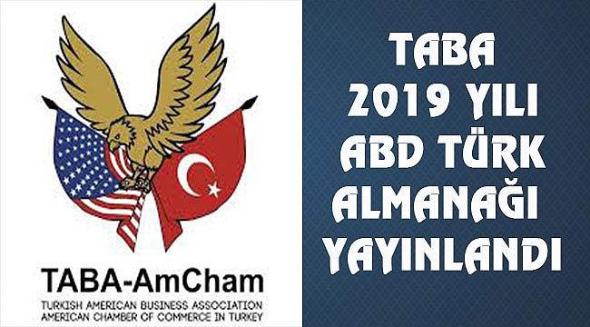 Türk Amerikan İşadamları Derneği 2019 Almanağı Yayınladı