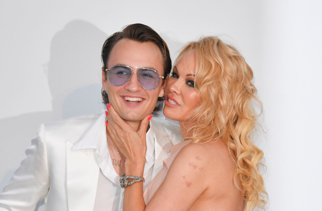 Pamela Anderson's son reacts as news of her surpri