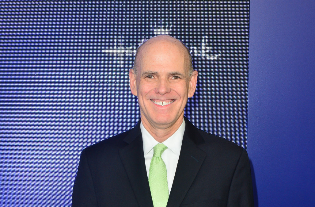 Longtime CEO of Hallmark Channel's parent company