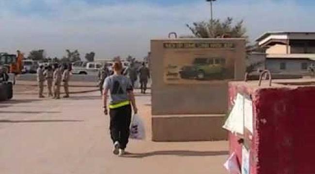 Irak'taki ABD üssüne saldırı: 4 Yaralı
