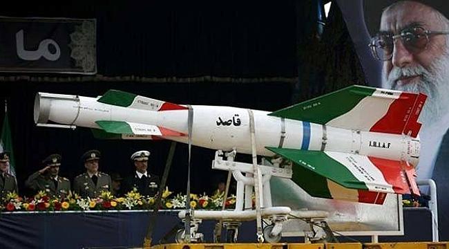 İran ABD üslerine Füzelerle Saldırdı