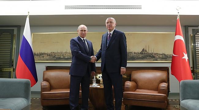 Putin Erdoğan Biraraya Geldi