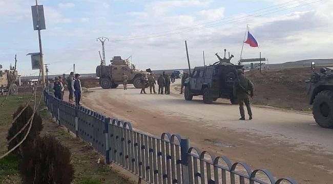 Suriye'de ABD ile Rus Askerleri Arasında Gerginlik