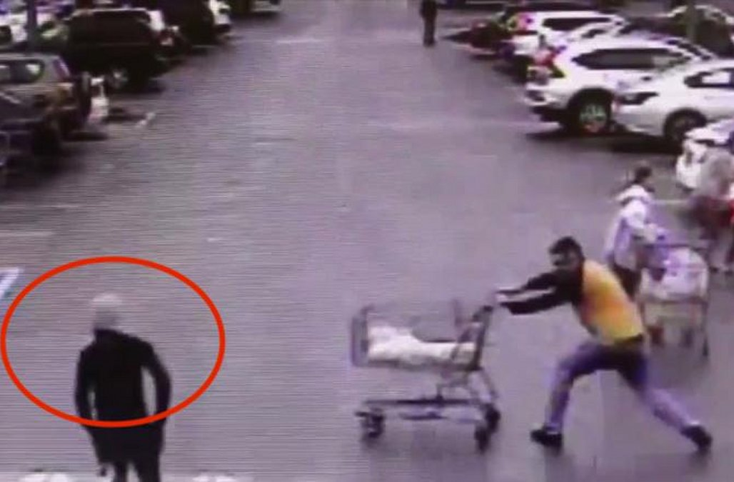 Police release stunning security footage of shoppe