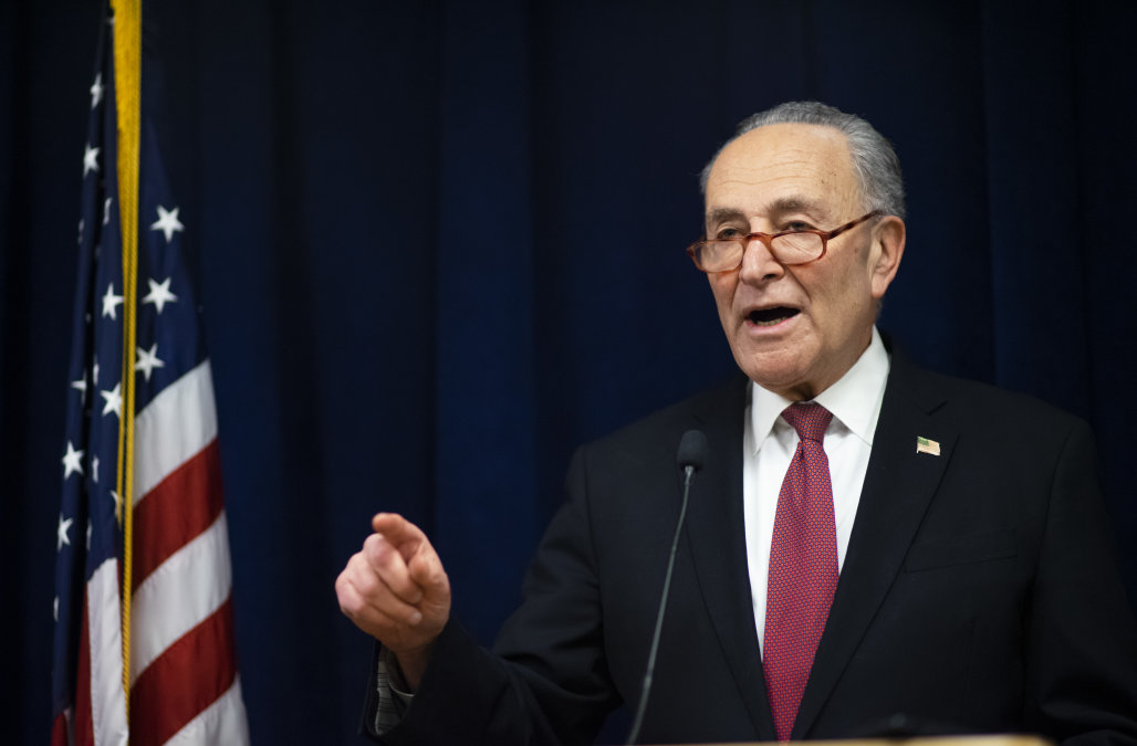Schumer calls for $8.5 billion in coronavirus emer