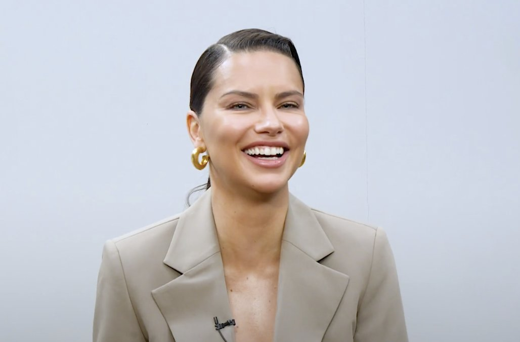 Adriana Lima reveals everything she keeps in her p