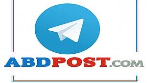 ABDPOST.COM'un Telegram Kanalına Üye Olun