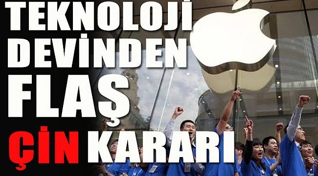 Apple Çin'deki Mağazaları Kapattı