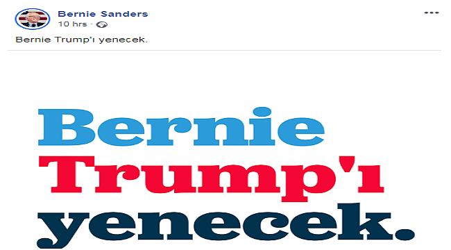 Bernie Sanders'tan Türkçe Mesaj
