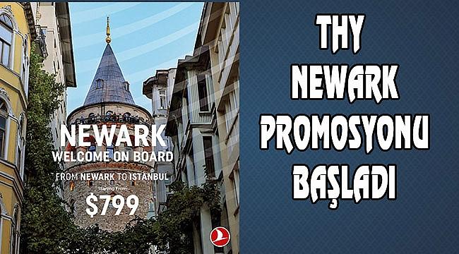 THY Newark Seferi için Fiyatı Belirledi