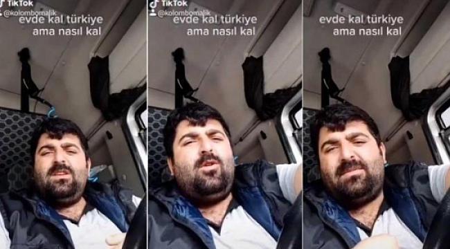 """""""Beni Düzen Öldürür"""" Diyen TIR Şoförü"""