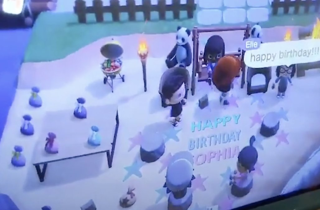 Friends throw 9-year-old surprise birthday party o