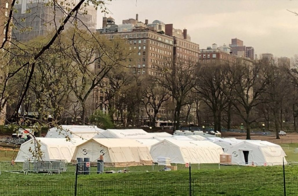 NYC landmarks convert to hospitals amid outbreak -