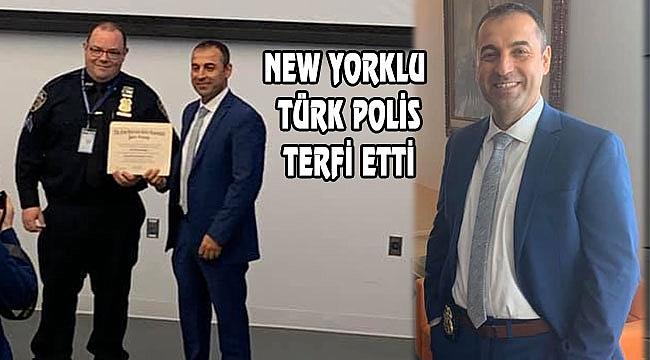 New York'ta Türk Polis Ali Hammutoğlu Terfi Etti