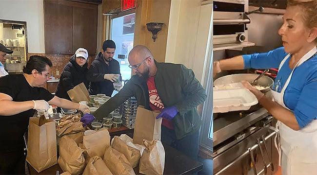 New York'ta Türkler'den Yardım Paketi