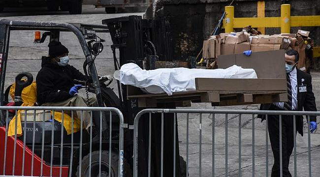 Büyük iddia ;Amerika 100 bin ceset torbası sipariş etti