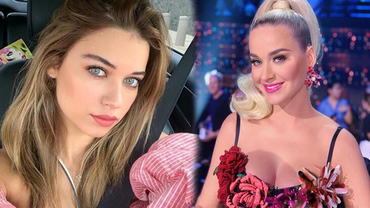 Katy Perry, Afra Saraçoğlu'nun pozunu beğendi