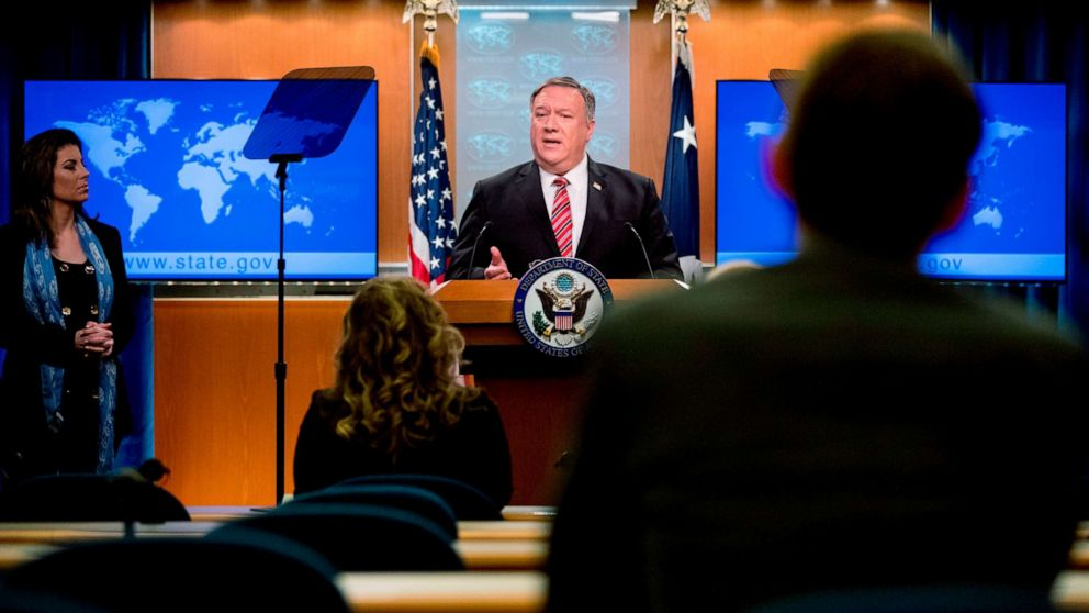 Pompeo says 'enormous evidence' for unpr