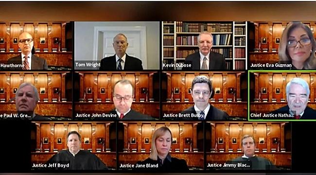 Amerika'da Telekonferanslı duruşma yapıldı