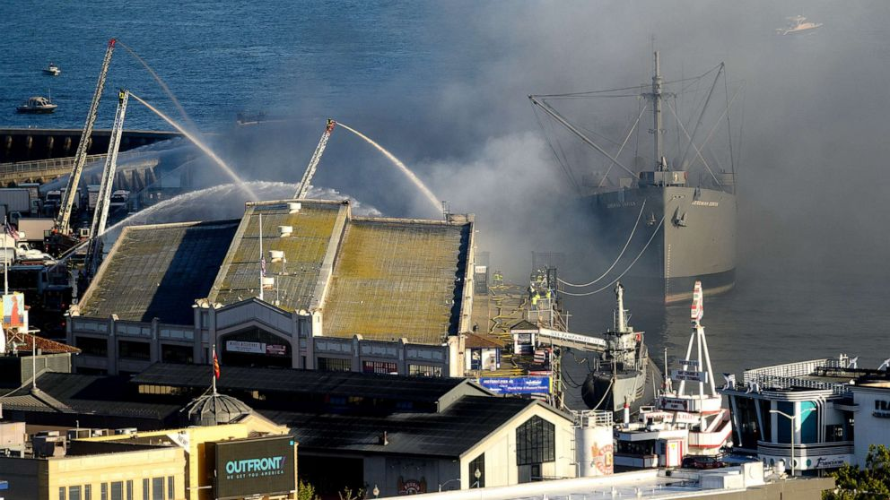 Historic WWII ship saved from San Francisco wareho