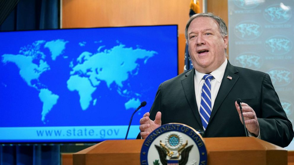 Pompeo changes tune on Chinese lab's role in