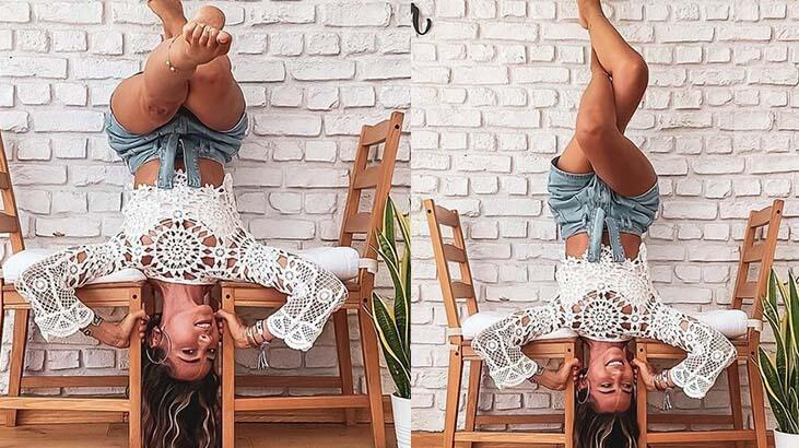 43 yaşındaki Zeynep Tokuş kendine hayran bıraktı