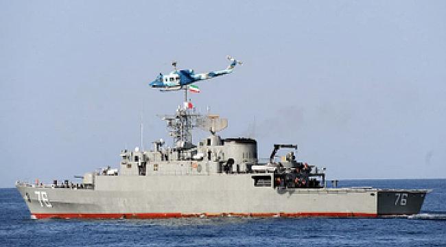 İran kendi Gemisini Vurdu: 40 Ölü