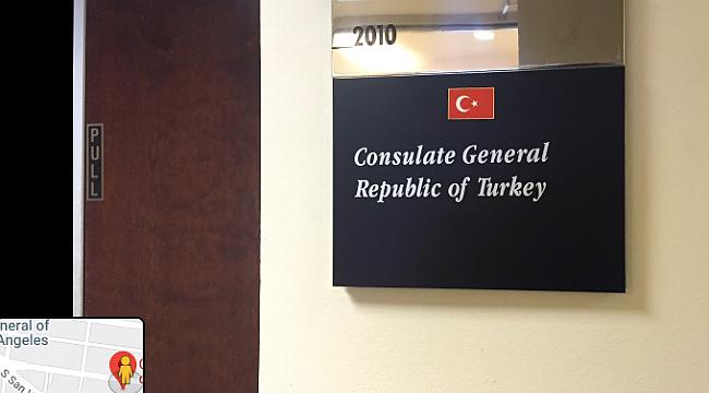 Türkiye'nin Los Angeles Konsolosluğu Taşınıyor