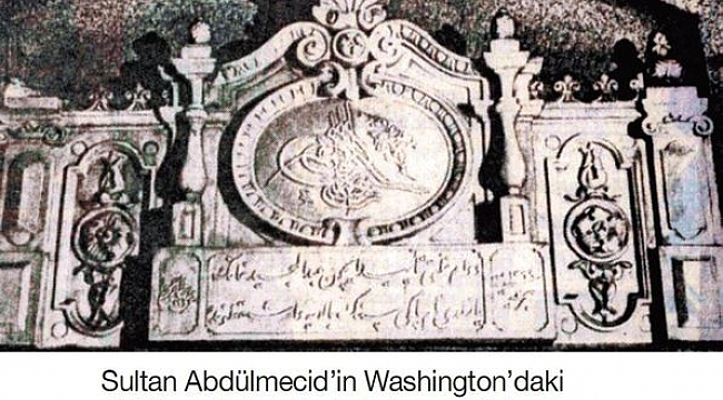 Washington'daki Osmanlı Tuğrası