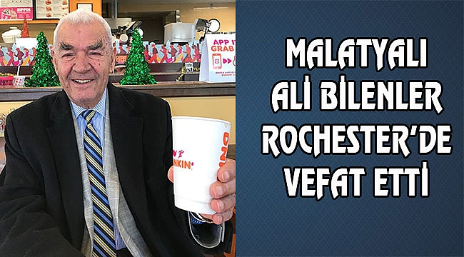 Ali Bilenler New York'ta Vefat Etti