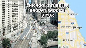 Chicago'nun Bağdat Caddesi: Michigan Ave