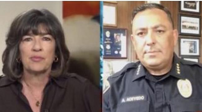 "Polis şefi Trump 'a ""kapa çeneni"" dedi"
